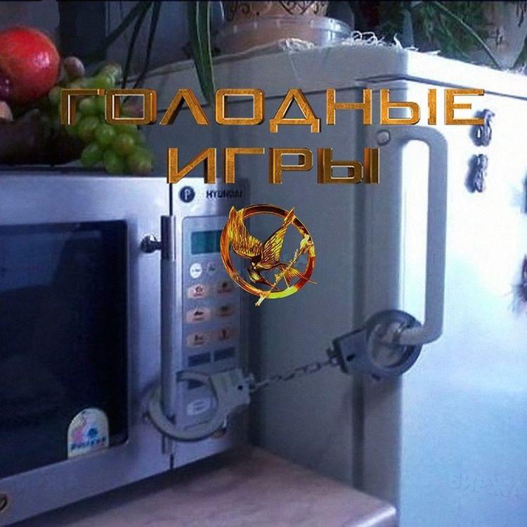 холодильник и микроволновка закрыты наручниками голодные игры